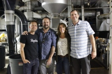 Regina Ellis, Chris Funk, Stumptown Coffee Tour