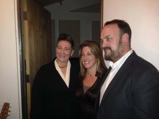 KD Lang, Regina Ellis, Chris Funk