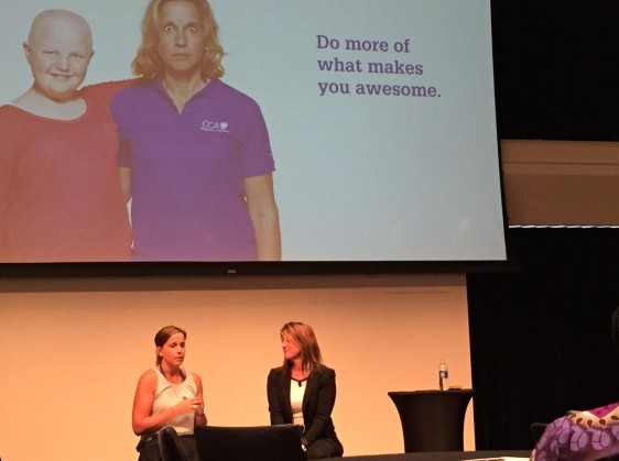 Regina Ellis was the keynote speaker at the Women of Merchandising Nike Event in 2015 hosted by Andrea Corradini.