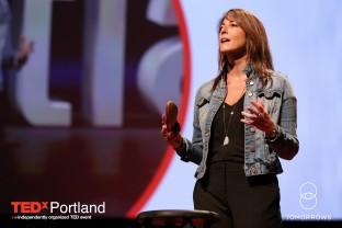 Regina Ellis speaks at TEDx Portland 2015