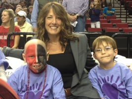 Regina Ellis, CCA, Portland Trailblazers Game