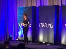 Regina Ellis at Intel Event
